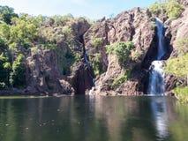 Падения Wangi, национальный парк Litchfield, Австралия Стоковая Фотография RF