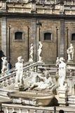 Палермо, аркада Претория стоковое фото rf