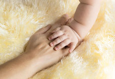 Палец младенца Стоковое Изображение RF