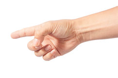 Палец пункта Стоковые Изображения RF