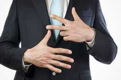 Палец 8 Стоковое Фото