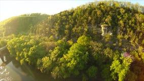 Палисады реки Кентукки сток-видео