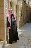 Паломники священника стоковые фотографии rf