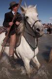 Паломничество Gitan, Camargue Стоковое Изображение RF