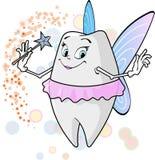 Палочка волшебства fairy_with зуба Стоковое Изображение