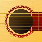 Палуба гитары Стоковое Фото