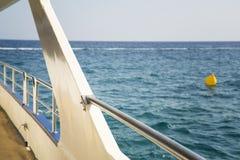 Палуба корабля Стоковое Изображение RF