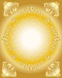 падуб золота колоколов Стоковое Фото