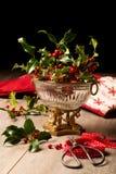 Падуб & ягоды Стоковая Фотография RF