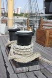Палы на палубе Стоковое Изображение