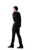 Пальто владением бизнесмена стоковое изображение