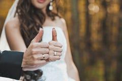 Пальцы знака все хороши Стоковое фото RF