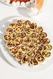 Пальц-еда (закуски) стоковая фотография
