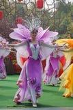 певец-соло ансамбля танцы красотки Стоковое фото RF