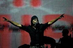 певица утеса laibach Стоковая Фотография RF