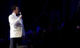 Певица Iosif Kobzon Стоковая Фотография RF