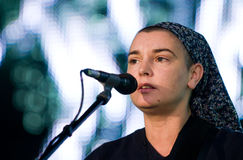 певица sinead connor ирландская o стоковые фотографии rf