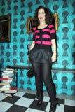 певица victoria премьеры шипучки dayneko ali стоковое изображение rf