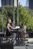 Певицы и танцор Стоковая Фотография RF