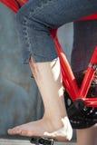 педаль ноги Стоковое Изображение RF
