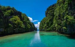 Пейзажи Palawan Стоковые Изображения
