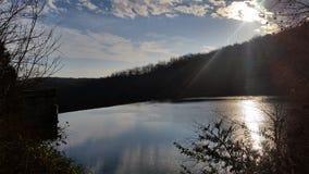Пейзажный бассейн бога стоковое изображение rf