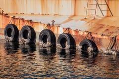 Пейзаж абстрактного, современного †впечатления гавани «отражательный ti стоковое фото rf