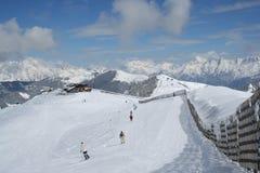 пейзаж австрийца alps Стоковые Фотографии RF