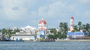 Пейзаж берега вокруг Cienfuegos Стоковое фото RF