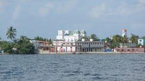 Пейзаж берега вокруг Cienfuegos Стоковое Изображение RF