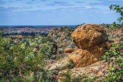 Пейзаж Больдэра в национальном парке Mapungubwe, Южной Африке стоковое изображение rf