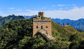 Пейзаж Великой Китайской Стены Стоковая Фотография
