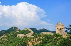 Пейзаж Великой Китайской Стены Стоковая Фотография RF