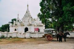 Пейзаж виска Da Binniu около Bagan Стоковые Изображения