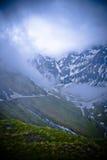 пейзаж высокой горы Стоковые Изображения