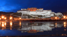 Пейзаж в Тибете Стоковые Фото