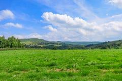 Пейзаж в Bridgnorth стоковые фотографии rf