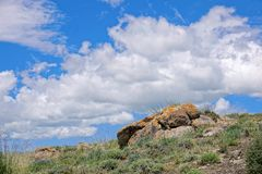 Пейзаж глуши стоковая фотография rf
