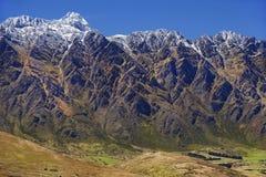 Пейзаж горы в Новой Зеландии Стоковое Изображение RF