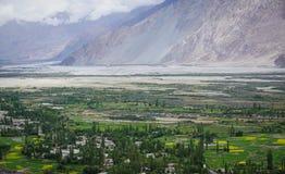 Пейзаж горы в Ladakh, Индии Стоковая Фотография