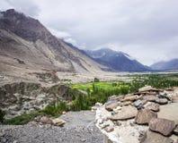 Пейзаж горы в Ladakh, Индии Стоковое Изображение