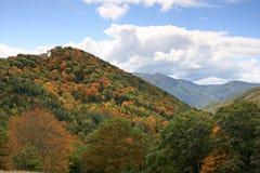 пейзаж горы закоптелый Стоковые Изображения RF