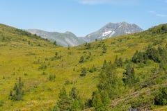 Пейзаж горы, Норвегия Стоковое Изображение