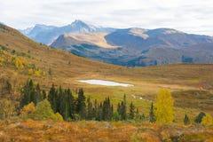 Пейзаж горы, Норвегия Стоковое фото RF