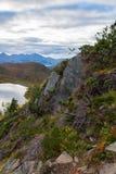 Пейзаж горы, Норвегия Стоковые Фото