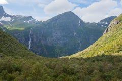 Пейзаж горы, Норвегия Стоковые Фотографии RF