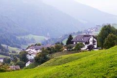 Пейзаж горы доломитов Стоковые Изображения RF