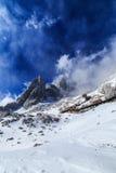 Пейзаж горы снега Yulong Стоковая Фотография RF