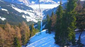 Пейзаж горы, Zell до полудня видит, Австрия видеоматериал