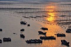 Пейзаж графства Xiapu Стоковая Фотография RF